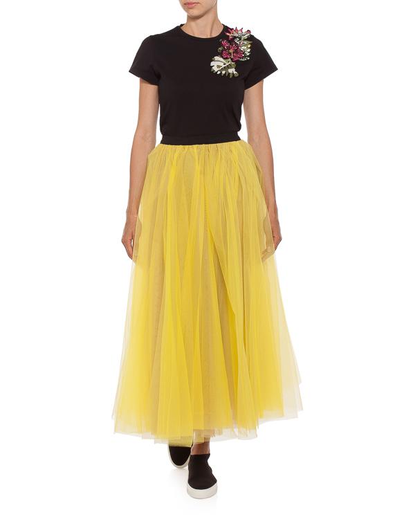 женская футболка L'Edition, сезон: лето 2018. Купить за 9500 руб. | Фото $i