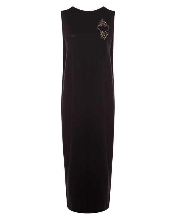 платье миди прямого силуэта  артикул LE0543R70 марки L'Edition купить за 17800 руб.