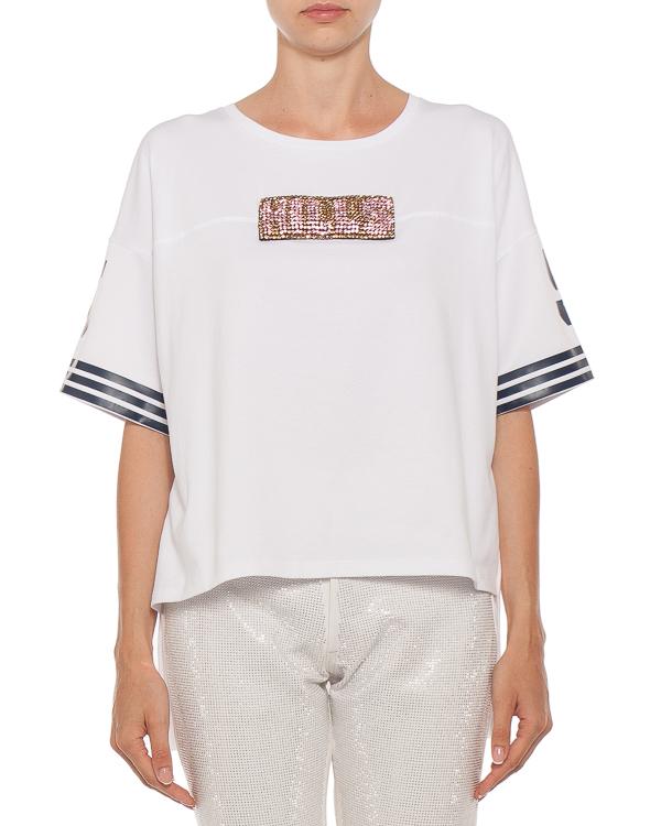 женская футболка L'Edition, сезон: лето 2018. Купить за 14400 руб. | Фото $i