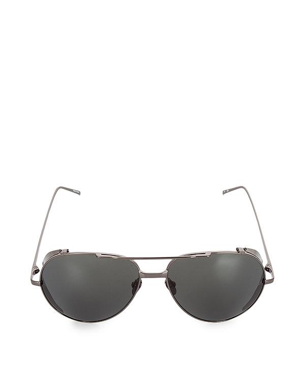 очки из титана с никелевым покрытием артикул LFL426C5SUN марки Linda Farrow купить за 47100 руб.