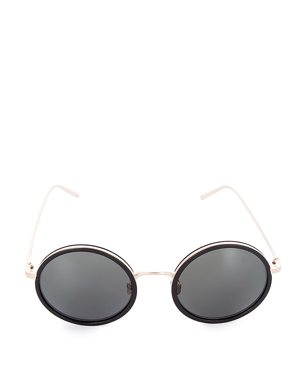 очки из легкого японского позолоченного титана артикул LFL440C4SUN марки Linda Farrow купить за 47100 руб.
