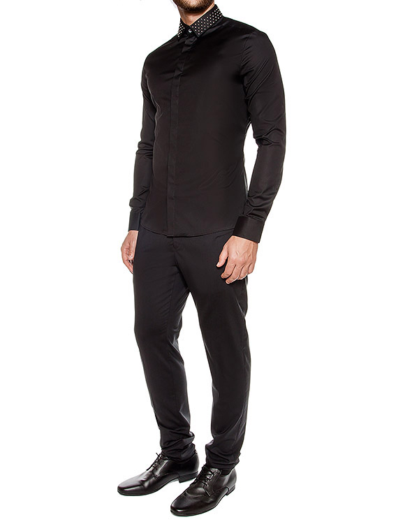 мужская рубашка Les Hommes, сезон: зима 2016/17. Купить за 13500 руб. | Фото $i