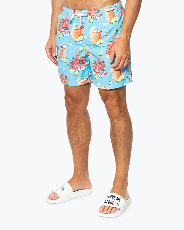 шорты для плавания  MC2 Saint Barth, сезон: лето 2020. Купить за 12900 руб. | Фото 2