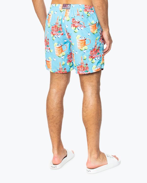 шорты для плавания  MC2 Saint Barth, сезон: лето 2020. Купить за 12900 руб. | Фото 3