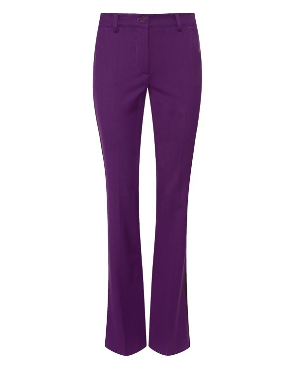 брюки клеш из костюмной шерсти  артикул LILIU230311 марки P.A.R.O.S.H. купить за 26100 руб.
