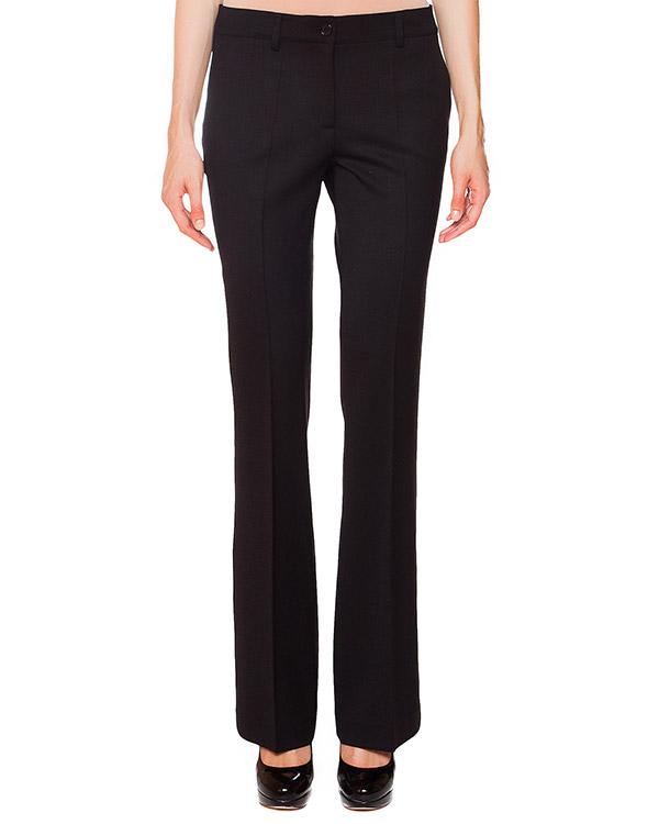 брюки расклешенного кроя из плотной шерсти артикул LILYX230009 марки P.A.R.O.S.H. купить за 7700 руб.