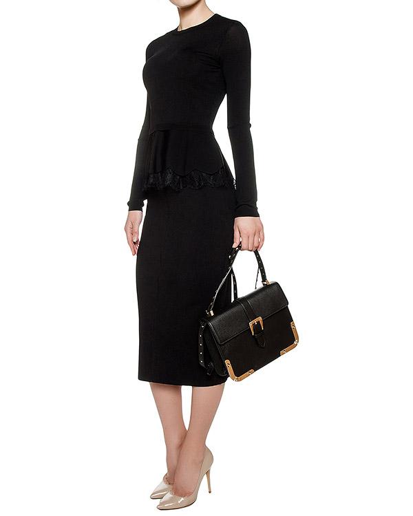 женская юбка Valentino Red, сезон: зима 2016/17. Купить за 13200 руб.   Фото $i