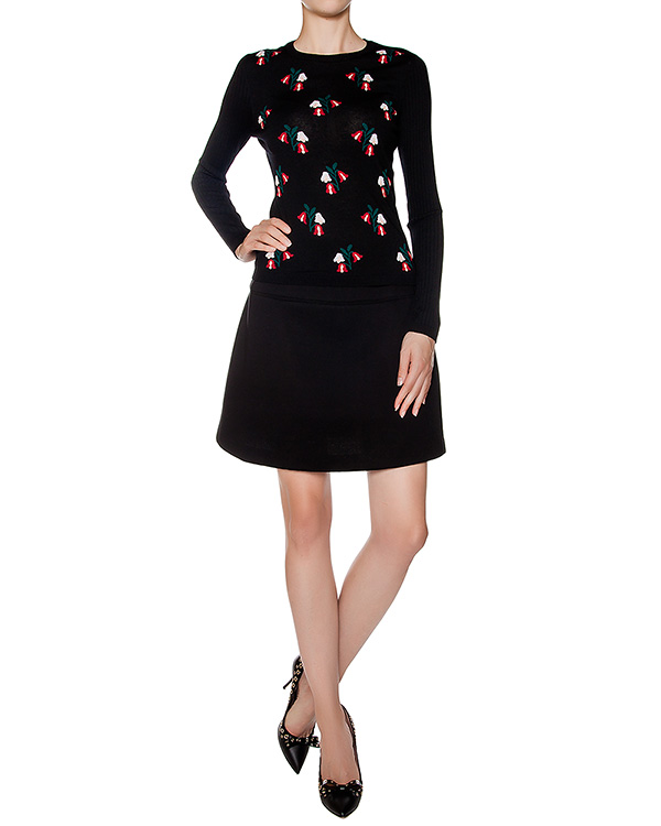 женская юбка Valentino Red, сезон: зима 2016/17. Купить за 10100 руб. | Фото $i