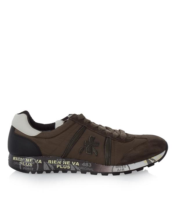 кроссовки Lucy из текстиля и кожи  артикул LUCY2453 марки Premiata sport купить за 11200 руб.