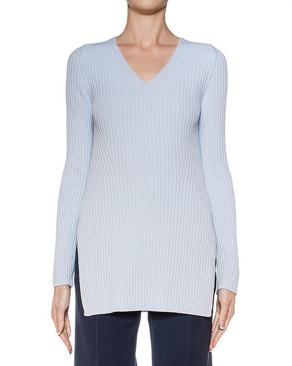 пуловер из мягкой шерсти и кашемира, дополнен разрезами по бокам артикул M0054 марки MRZ купить за 14200 руб.