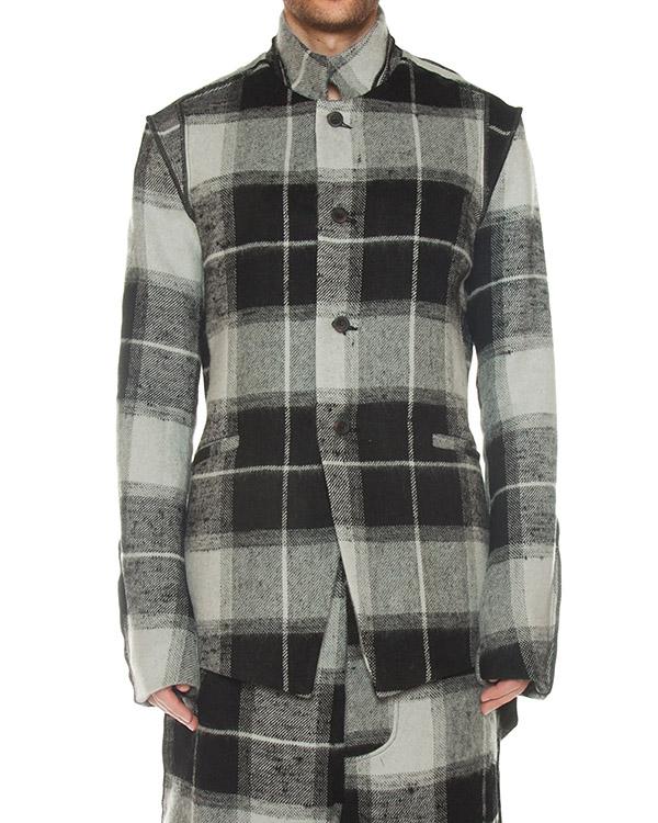 пиджак удлиненного силуэта из льна и шерсти артикул M21601278 марки Lost&Found купить за 48800 руб.