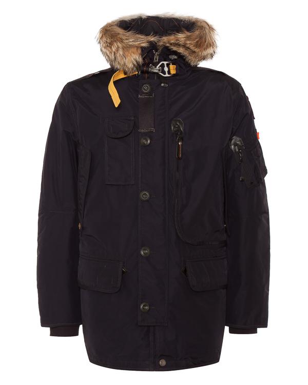 пуховик с карманами и капюшоном артикул MA02-18 марки Parajumpers купить за 81000 руб.