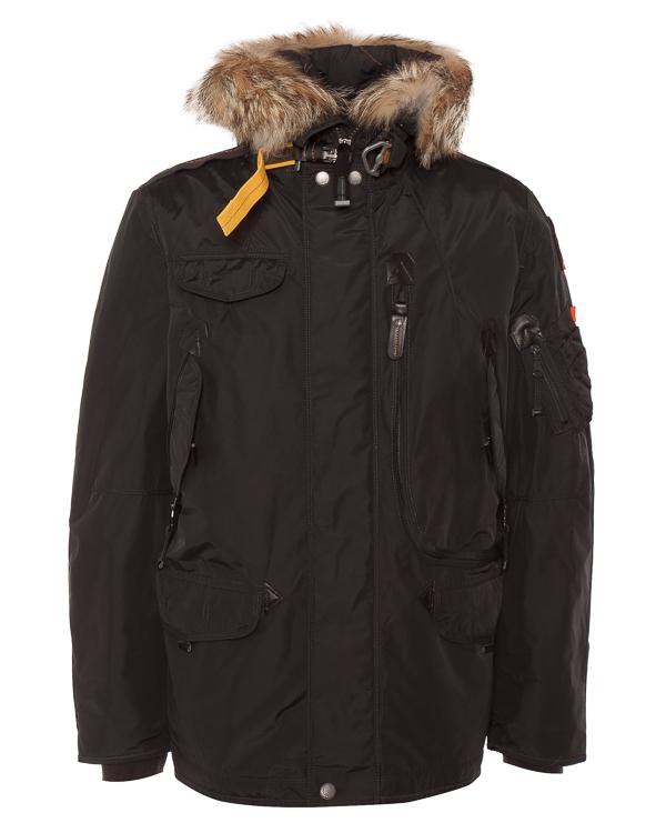 пуховик с карманами и капюшоном артикул MA03-18 марки Parajumpers купить за 76100 руб.