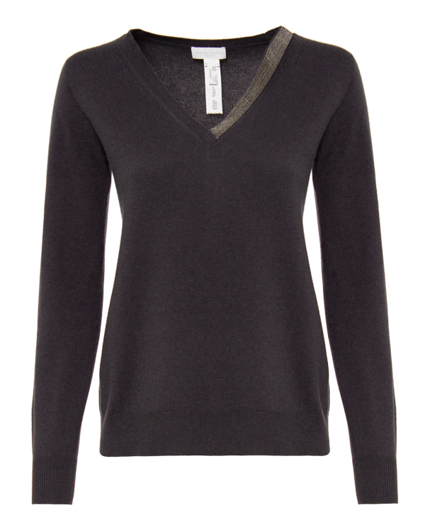 пуловер Fabiana Filippi MAD220W011 40 тем.серый