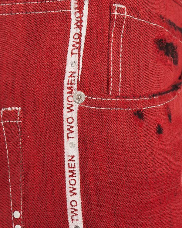 женская джинсы 2M2W, сезон: лето 2018. Купить за 20400 руб. | Фото $i