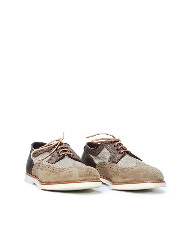 мужская ботинки Santoni, сезон: лето 2014. Купить за 13700 руб.   Фото $i
