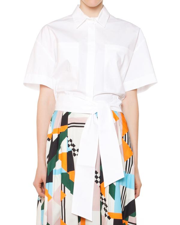 женская рубашка MSGM, сезон: лето 2015. Купить за 9600 руб.   Фото $i