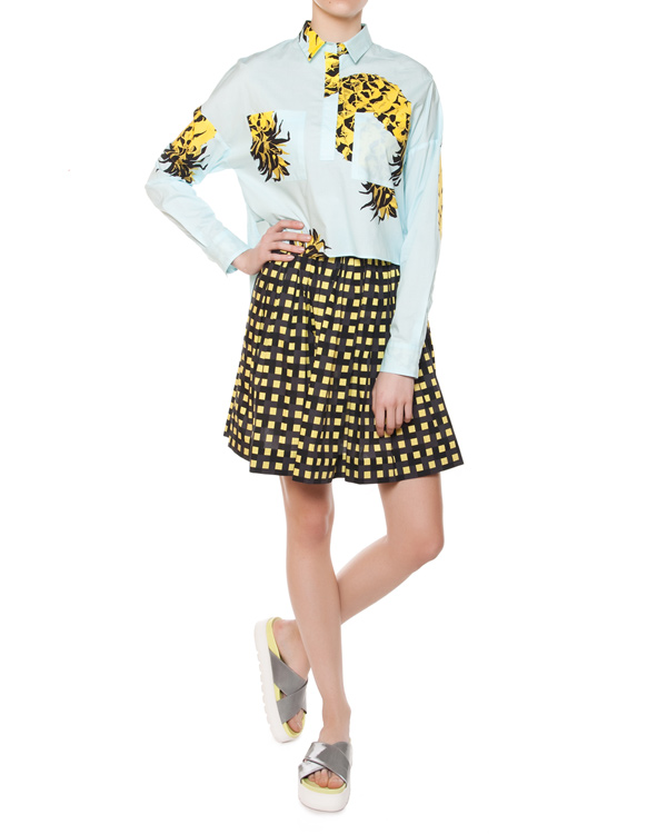 женская блуза MSGM, сезон: лето 2015. Купить за 10900 руб. | Фото $i