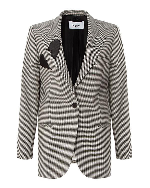 MSGM из костюмной шерсти с нашивкой артикул  марки MSGM купить за 18400 руб.