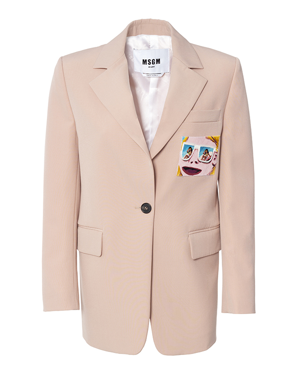 MSGM из шерсти с вышивкой артикул  марки MSGM купить за 46900 руб.