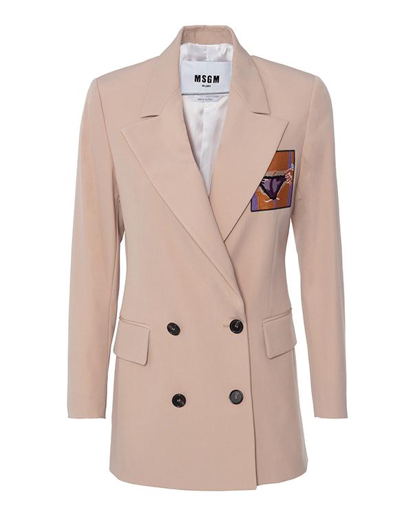 MSGM из шерсти с вышивкой  артикул  марки MSGM купить за 44500 руб.