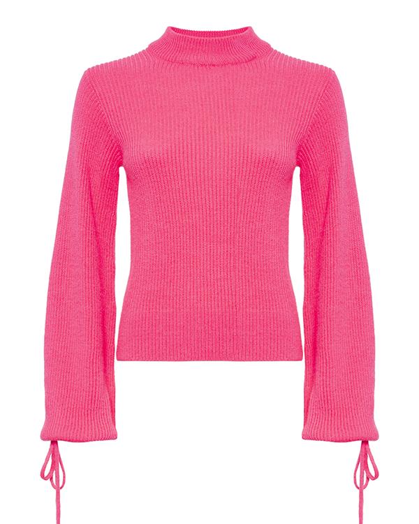 свитер MSGM MDM132 s неон розовый