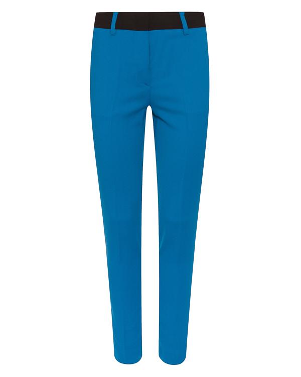 брюки из вискозы прямого силуэта  артикул MDP16Y марки MSGM купить за 17400 руб.