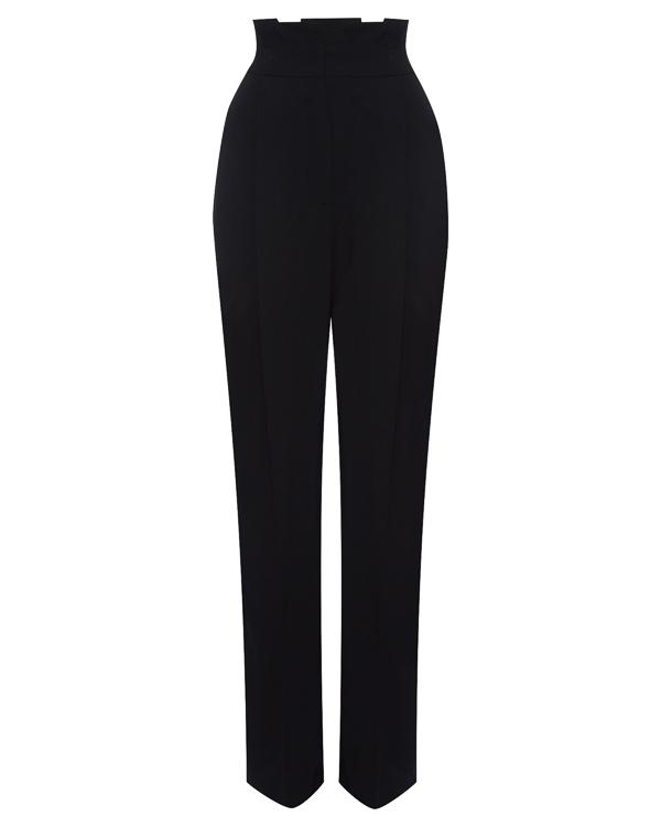 брюки широкого силуэта из плотного крепа артикул MDP16 марки MSGM купить за 18000 руб.