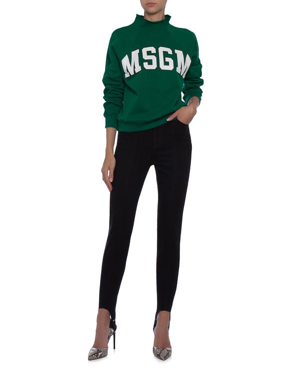 женская брюки MSGM, сезон: зима 2017/18. Купить за 7900 руб. | Фото $i