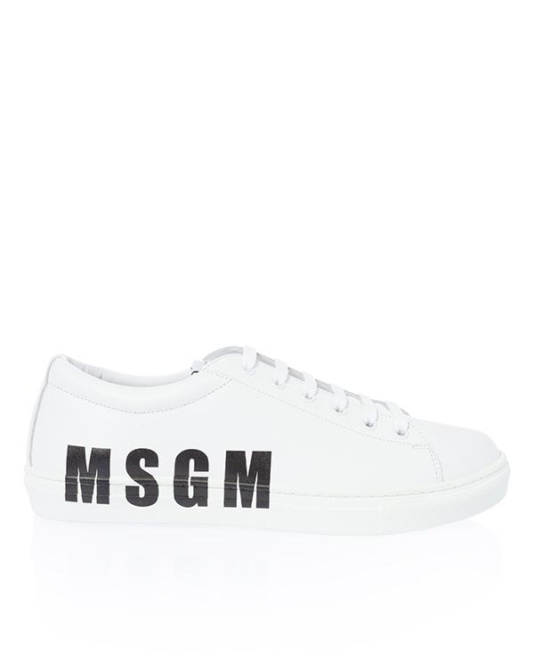 MSGM из кожи с логотипом бренда  артикул  марки MSGM купить за 21800 руб.