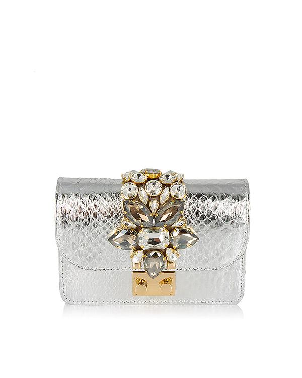 GEDEBE из кожи с кристаллами артикул MINICLIKY марки GEDEBE купить за 45200 руб.