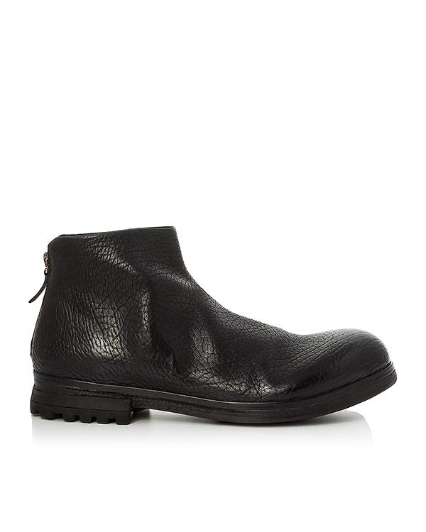 ботинки из шагреневой кожи артикул MM2306 марки Marsell купить за 34100 руб.