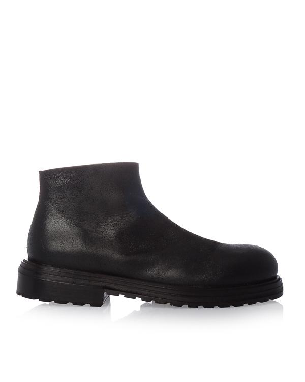 ботинки из кожи с декоративным  эффектом состаривания артикул MM2485 марки Marsell купить за 42200 руб.