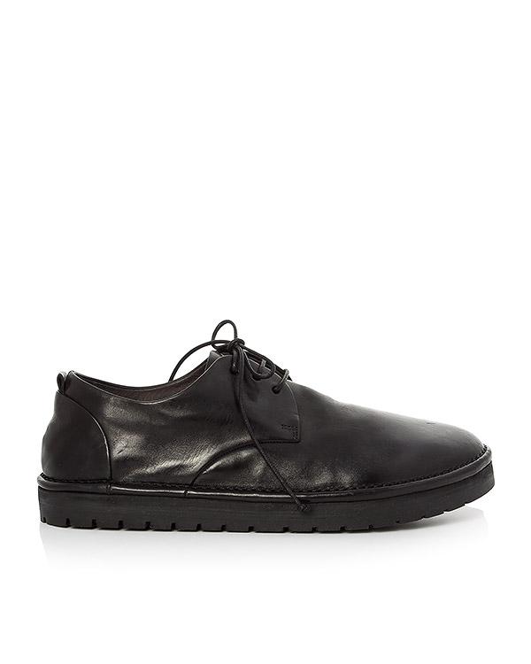 туфли из кожи на шнуровке артикул MMG112 марки Marsell купить за 20200 руб.