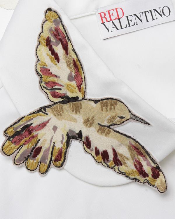 женская рубашка Valentino Red, сезон: лето 2017. Купить за 13300 руб.   Фото $i