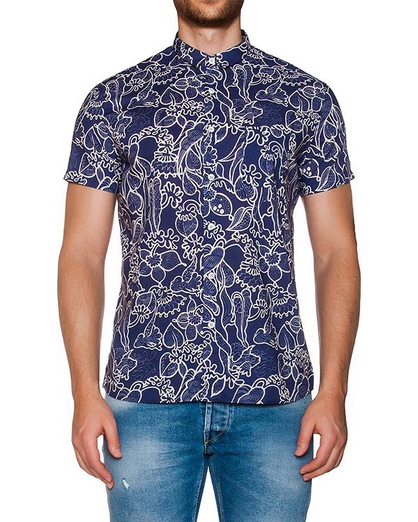 рубашка из мягкого хлопка с цветочным принтом артикул MT6BCCL-4A042 марки CAPRI купить за 6900 руб.