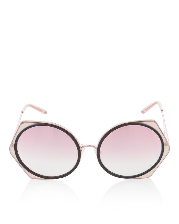 очки из коллаборации Linda Farrow х Matthew Williamson  артикул MW178 марки Linda Farrow купить за 17800 руб.
