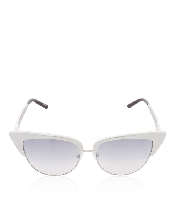 очки в металлической оправе со 100% защитой от УФ  артикул MW180 марки Linda Farrow купить за 17800 руб.
