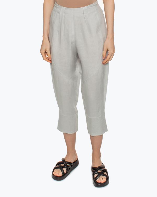 Женская брюки MAURIZIO, сезон: лето 2021. Купить за 19400 руб.   Фото 2