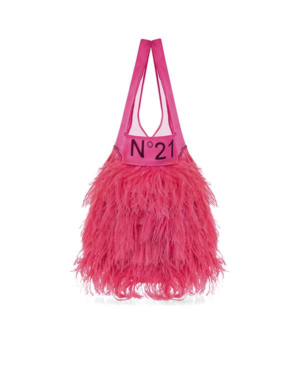 № 21 из шелка со страусиными перьями артикул  марки № 21 купить за 36800 руб.