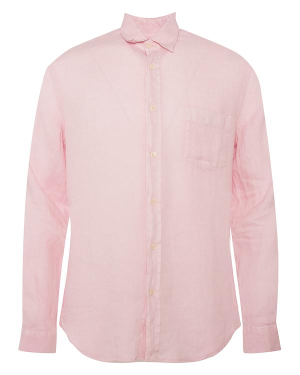 рубашка из льна прямого силуэта  артикул N0M1425-0115 марки 120% lino купить за 11200 руб.