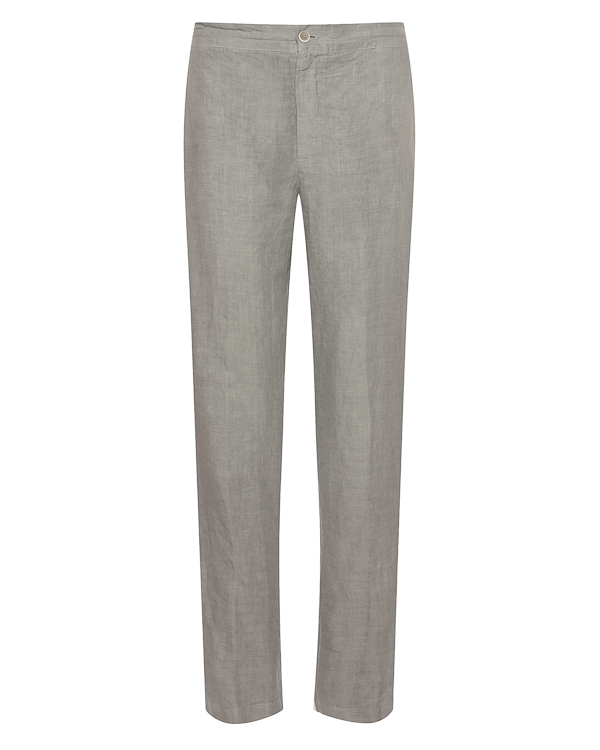 брюки классического кроя из льна  артикул N0M2300 марки 120% lino купить за 10000 руб.