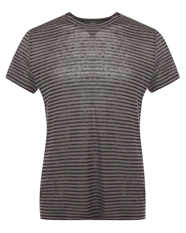 футболка из льна в полоску артикул N0M7288-E738 марки 120% lino купить за 10300 руб.