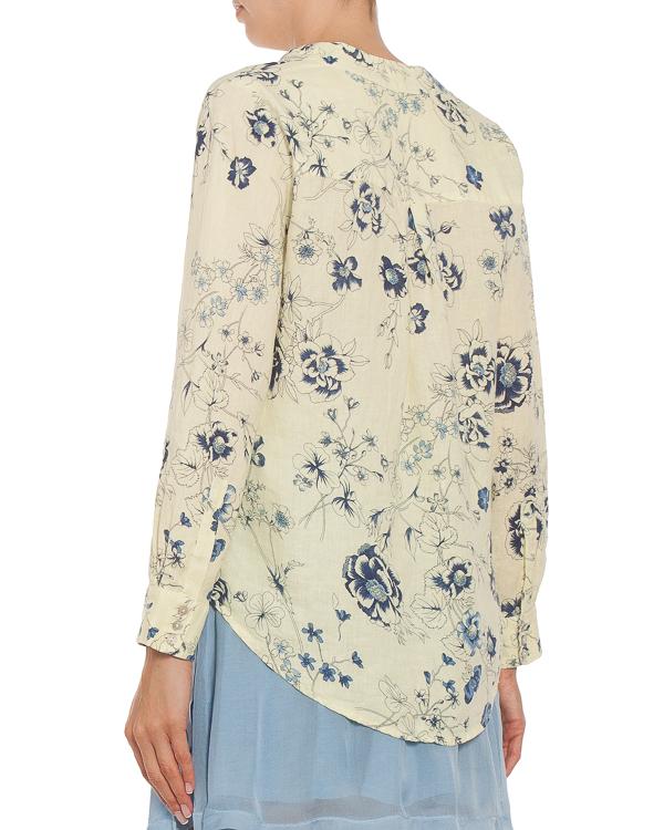 женская блуза 120% lino, сезон: лето 2018. Купить за 6800 руб. | Фото 1