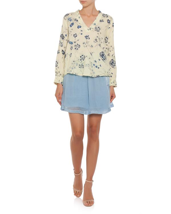 женская блуза 120% lino, сезон: лето 2018. Купить за 6800 руб. | Фото 2