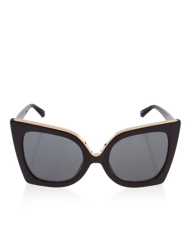 очки Oversize из коллаборации Linda Farrow х Nº21 артикул N21S2 марки Linda Farrow купить за 18900 руб.
