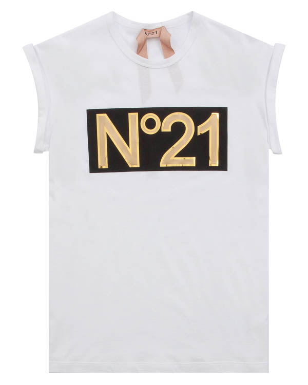 футболка  артикул N2M0F021 марки № 21 купить за 14600 руб.