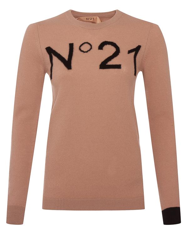 № 21 из тонкой шерсти с логотипом бренда артикул N2MA014 марки № 21 купить за 19100 руб.