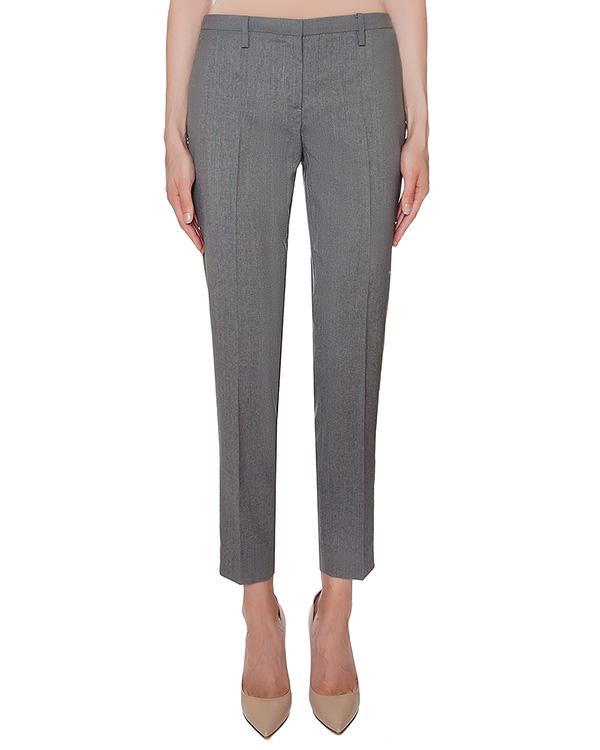 брюки прямого кроя из мягкой вирджинской шерсти артикул N2MB011-3120 марки № 21 купить за 18800 руб.