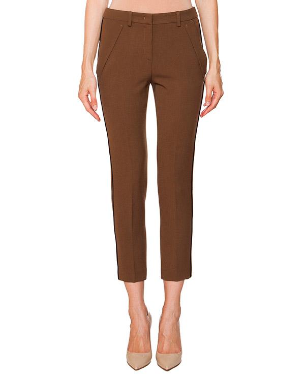 брюки укороченные классического прямого кроя артикул N2MB071 марки № 21 купить за 14900 руб.